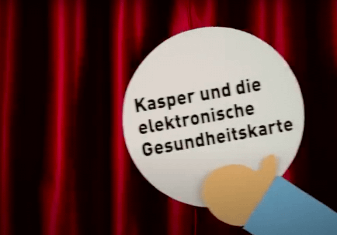 Kasper und die elektronische Gesundheitskarte